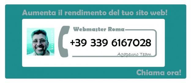 Webmaster SEO Roma