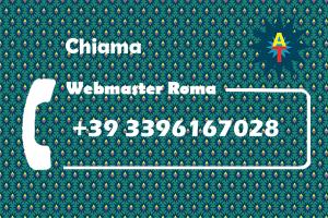 chiama webmaster roma