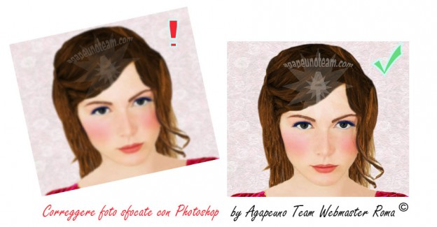 Correggere foto sfocate con Photoshop