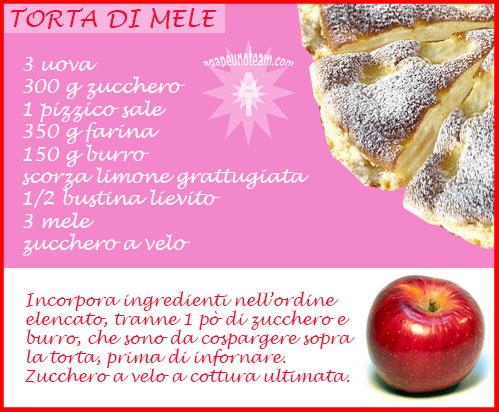 infografica torta di mele