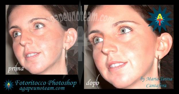 Fotoritocco avanzato pelle Photoshop