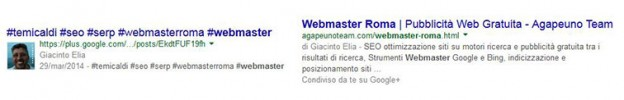 webmaster roma serp