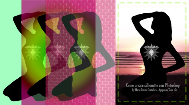come creare silhouette con Photoshop
