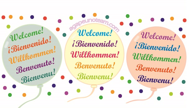 Welcome Benvenuto Bienvenue Willkommen Bienvenido