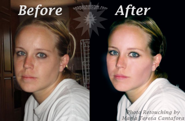 advanced skin photo retouching