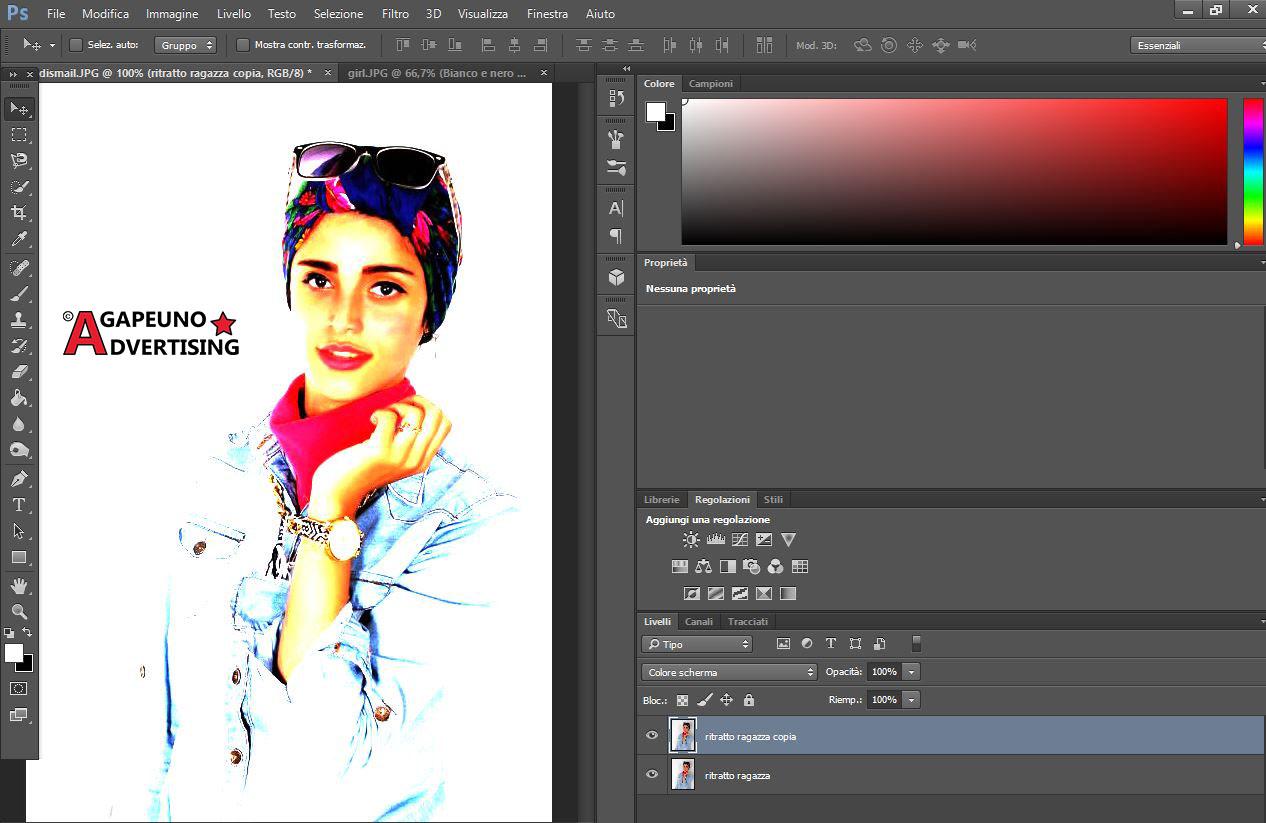 Ritratto da foto - Step 2