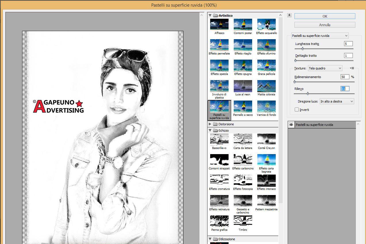 Ritratto da foto - Step 6