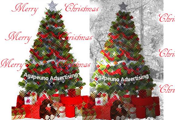 albero di Natale illustrazione 2015