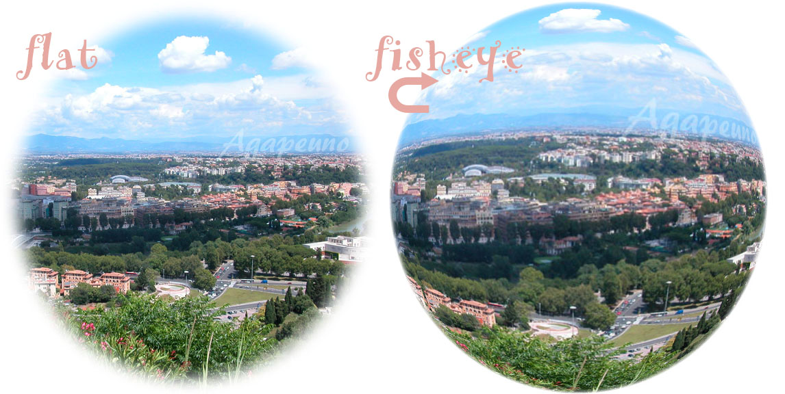 effetto fisheye con Photoshop