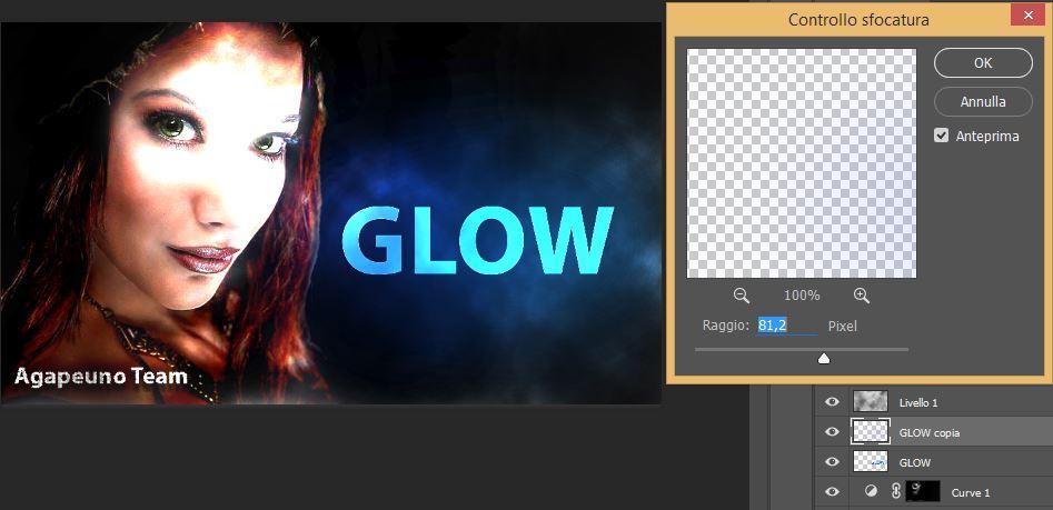filtro controllo sfocatura Photoshop