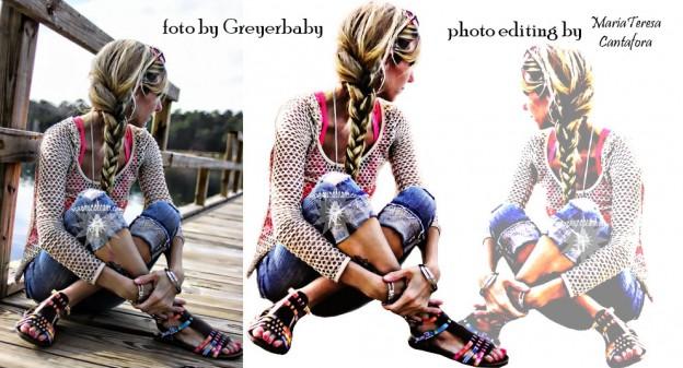 scontorno foto in Photoshop