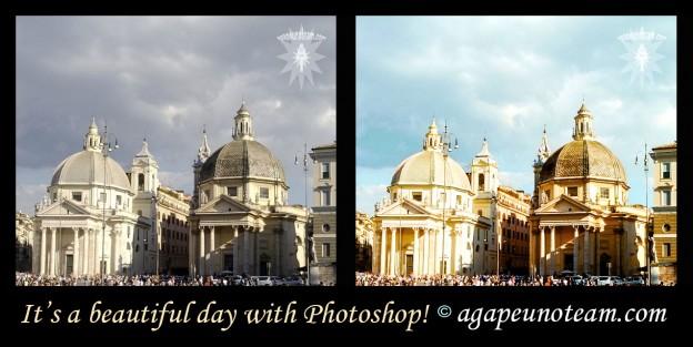 luce e colore alle foto con Photoshop