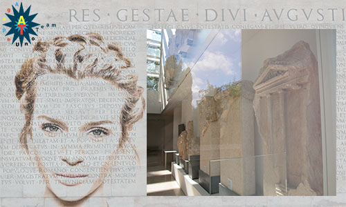 Ara Pacis composition by Agapeuno