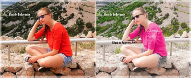 come cambiare colore foto - Photoshop tonalita saturazione