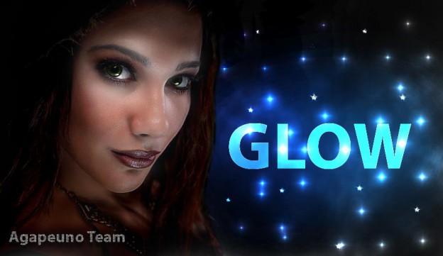 Photoshop illustrazione Effetto Glow